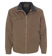 Custom Dri Duck Endeavor Canyon Cloth Canvas Jacket with Sherpa Lining