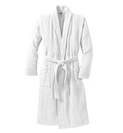 Custom Checkered Terry Shawl Collar Robe