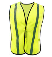 Custom Non-ANSI Safety Vest with Elastic