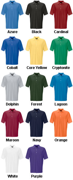 Greg Norman Play Dry Performance Mesh Polo - All Colors
