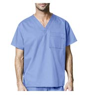 Custom Unisex V-Neck Scrub Top by WonderWink®