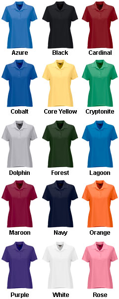 Greg Norman Ladies Play Dry Performance Mesh Polo - All Colors