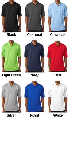 Mens Cool & Dry 8 Star Elite Performance Interlock Polo - All Colors