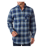 Backpacker Mens Yarn-Dyed Flannel Shirt
