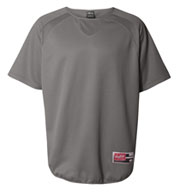 Custom Rawlings Short Sleeve Flatback Mesh Fleece Pullover