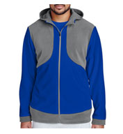 Custom Mens Rally Colorblock Microfleece Jacket