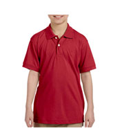 Harriton Youth Easy Blend™ Polo