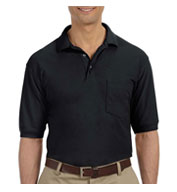 Custom Mens 5.6 oz. Easy Blend Polo with Pocket