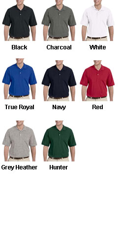 Harriton Mens Tall Easy Blend Polo - All Colors