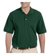 Custom Harriton Mens Tall Easy Blend Polo