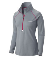 Custom Columbia Ladies Trail Summit Half-Zip Pullover