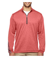 Adidas Golf Brushed Terry Heather Quarter-Zip