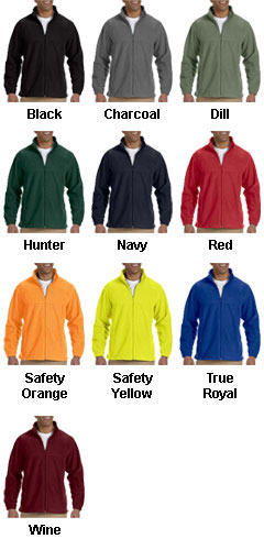 Mens Tall Full-Zip Fleece Jacket - All Colors