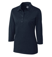 Custom Ladies CB DryTec� 3/4 Sleeve Chelan Polo