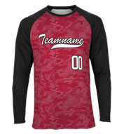 Custom Spectrum Sublimated Long Sleeve RaglanTee