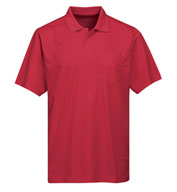 Mens Vital Pocket Polo