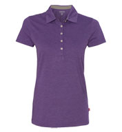 Custom IZOD Ladies Heather Jersey Sport Shirt