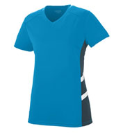 Ladies Oblique V-Neck T-shirt