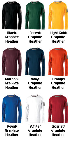 Adult Long Sleeve Electron Shirt - All Colors