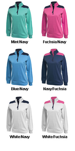 Womens Popover 1/4-Zip - All Colors