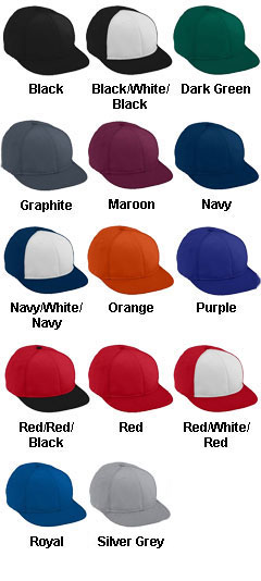 Youth Athletic Mesh Flat Bill Cap - All Colors