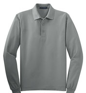 Tall Silk Touch™ Long Sleeve Polo