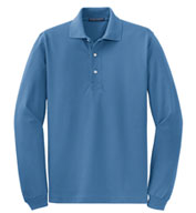 Custom Tall Rapid Dry™ Long Sleeve Polo