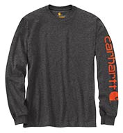 Carhartt Signature Sleeve Logo Long-Sleeve T-Shirt