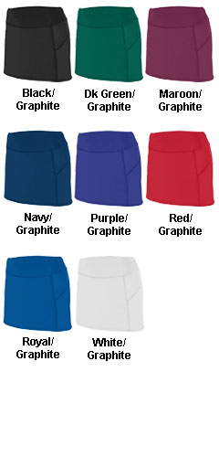 Ladies Femfit Skort - All Colors
