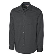Mens Long-Sleeve Tailored Fit Spread Nailshead