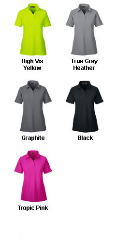 Ladies Under Armour Corp Performance Polo - All Colors