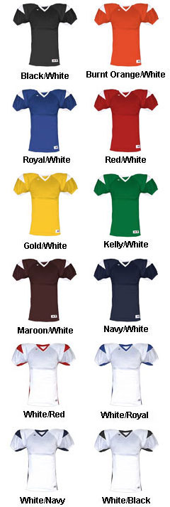 Adult West Coast Football Jersey - All Colors