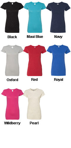 Womens Glitter T-Shirt - All Colors