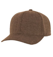 Casual Structured Herringbone Cap