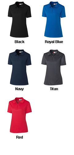 Clique Ladies Malmo Zip Polo - All Colors