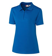 Custom Clique Ladies Malmo Zip Polo