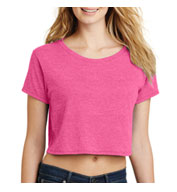 Juniors Relaxed Crop Tee