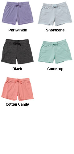 Ladies Snowflake Terry Shorts - All Colors