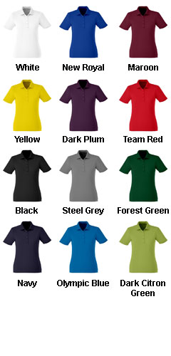 Womens Dade Short Sleeve Polo - All Colors