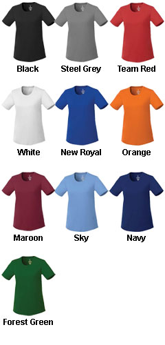 Womens Omi Short Sleeve Tech Tee - All Colors