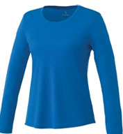 Custom Womens Parima Long Sleeve Tech Tee