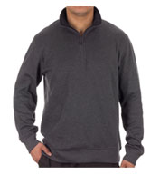 Custom Van Heusen Mens 1/4-Zip Sweater