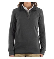 Custom Van Heusen Ladies 1/4-Zip Sweater