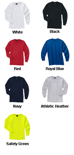 UPF 30+ Long Sleeve Crewneck Tee - All Colors