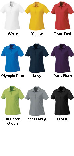 Womens Edge Short Sleeve Polo - All Colors