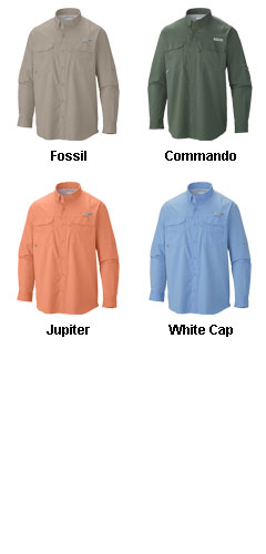 Columbia Mens Blood and Guts Long Sleeve Shirt - All Colors
