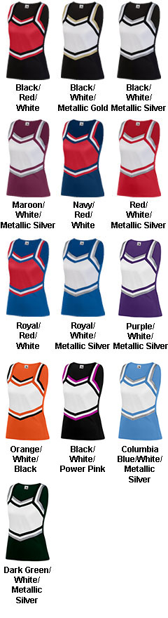 Ladies Pike Cheer Shell - All Colors