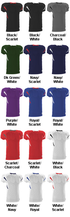 Alleson Youth Football Jersey - All Colors