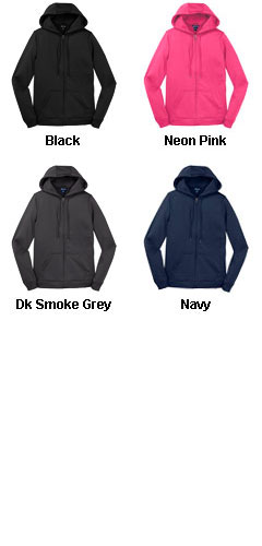 Ladies Sport-Wick® Fleece Full-Zip - All Colors