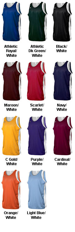 Champion Athletics Reversible Basketball Jersey - All Colors